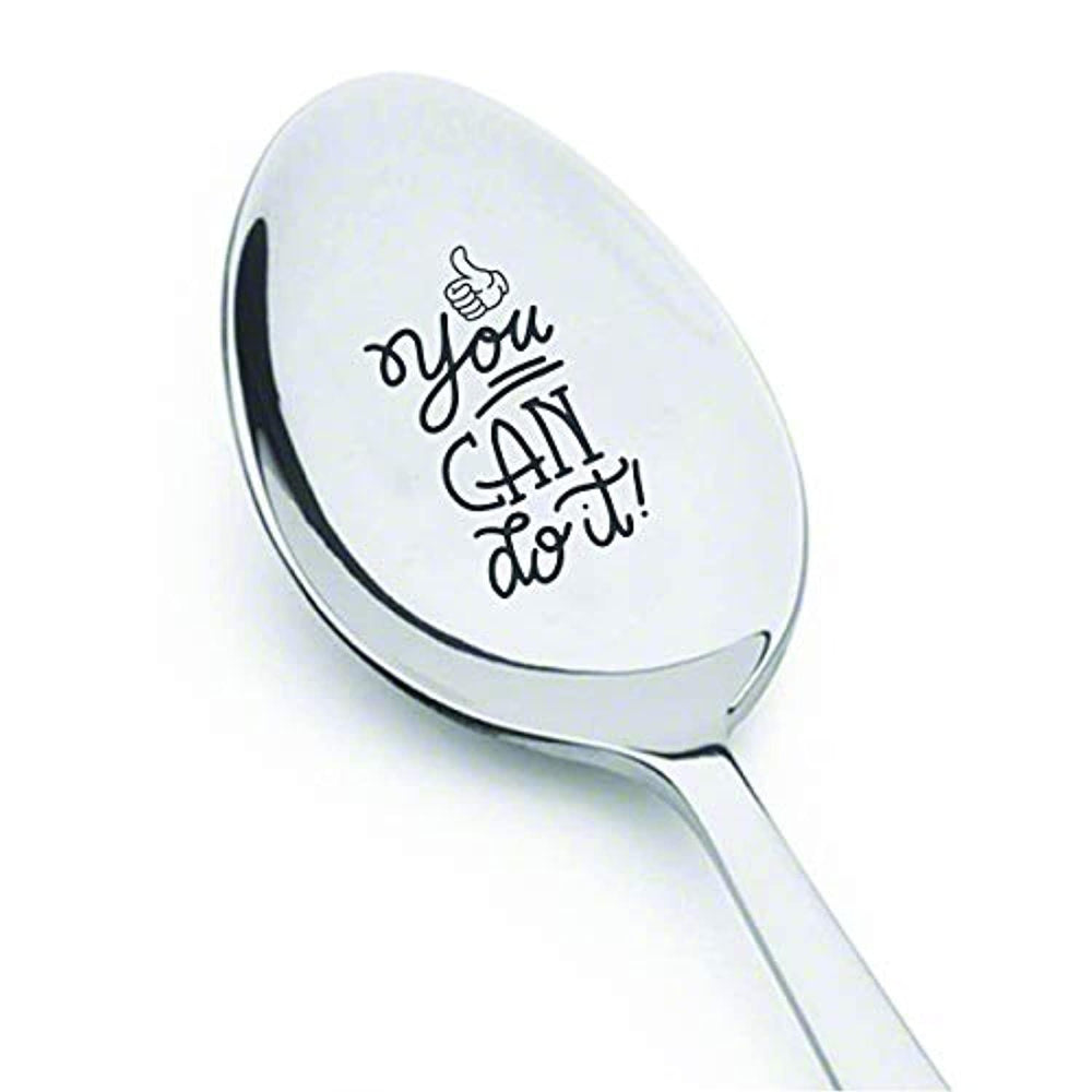 You Can Do It-Inspirational Spoon Gift from Teacher to Students-Motivational Gift for Coworker/Employees