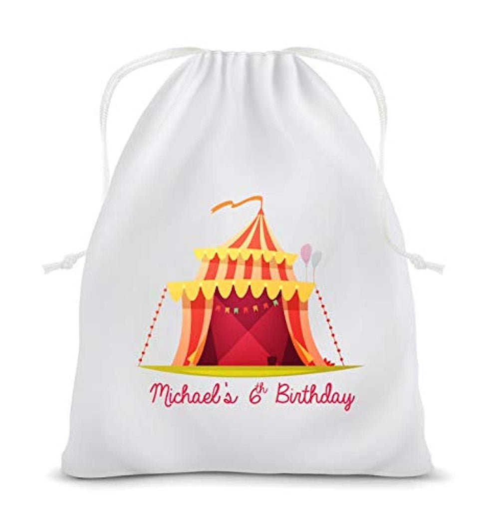 Circus | Favor Bags | Carnival Birthday Gifts | Kids Birthday Favor Bags