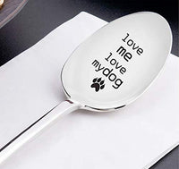 Dog Lovers Engraved Spoon Gift For Christmas