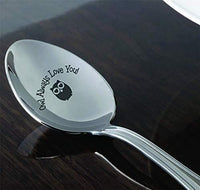 Owl Gifts for Women | Funny Friend Gifts for Friendship Day/Christmas/Birthday | Gifts for Sister | Engraved Spoon | Valentines Day Gift for Wife/Girlfriend