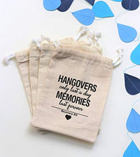 Customized Bachelorette Party Favor Bags