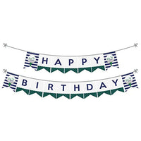 Par-Tee Time Birthday or Retirement Party Decorations Golf Birthday Party Bunting Banner Golf Party Decorations Happy Birthday banner Golf bunting