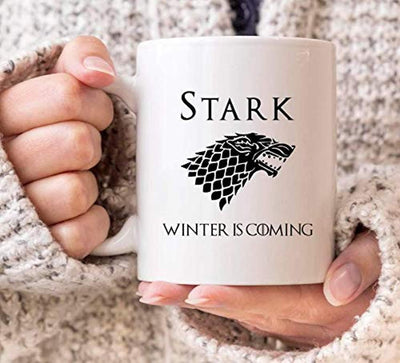 Winter is Coming Coffee Mugs | Game of Thrones Lovers Gifts | Winter Gifts | Christmas Gifts | Ceramic Coffee Gift Mugs