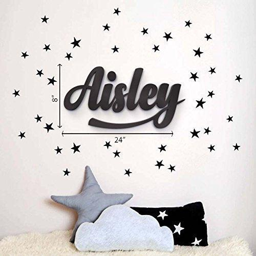Wood Letters - wood letters for wall - large wooden letters - wooden wall letters - customised wood letters - Baby room decors - Home decors - BOSTON CREATIVE COMPANY