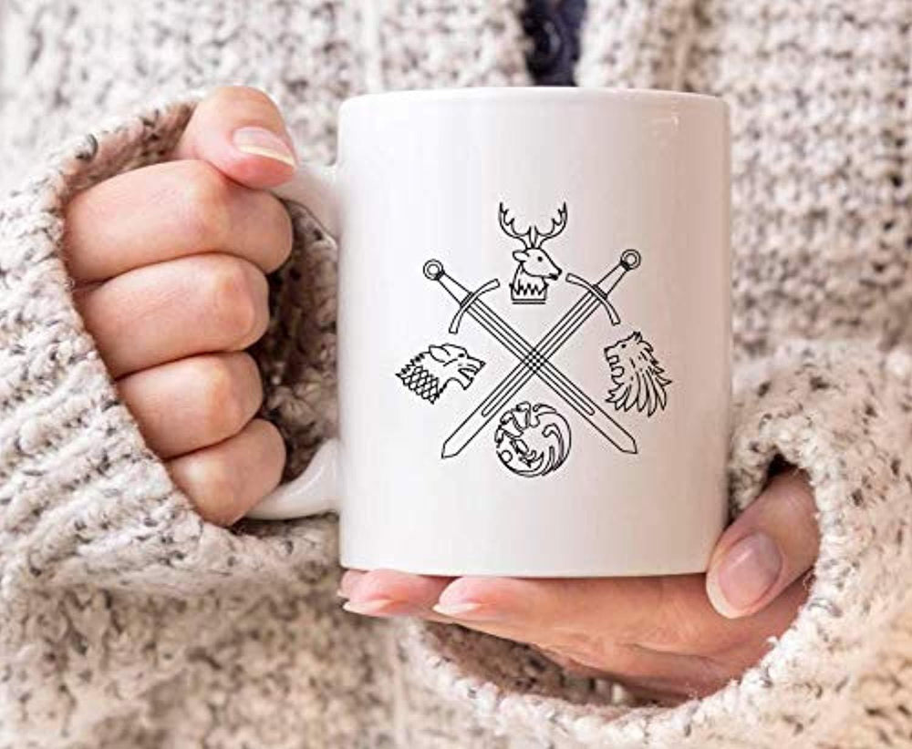 Game of Thrones Coffee Mug | Ceramic Coffee Mugs  | GOT Gifts 2019
