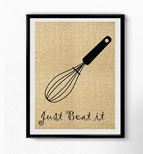 Kitchen Burlap Prints - BOSTON CREATIVE COMPANY