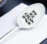 My Ice Cream Spoon Gift for Him Gift for Her Anniversary Gift