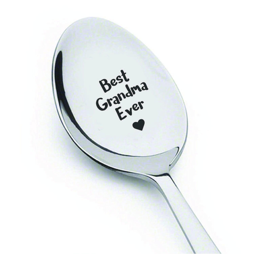 Funny gifts - Best Grandma Ever Spoon - Grandma gift - Gifts for grandma - Best selling items - Grandma to be - Mom gifts - Grandmother of the bride - 7 Inches - BOSTON CREATIVE COMPANY