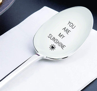 You Are My Sunshine Gift for Him Spoon Gift for Her Lovers Gift