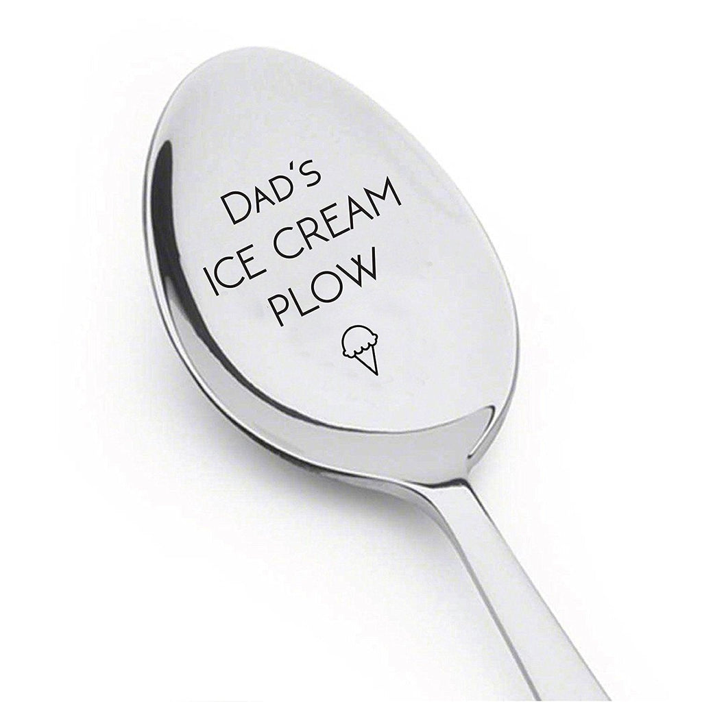 Dad's Ice Cream Plow - Ice Cream Lover - Cute Unique Gift - Best Selling Item - Gift for Him Her - BOSTON CREATIVE COMPANY