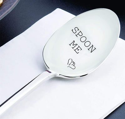 Spoon Me With Couple Heart Unique gift Anniversary Gift Wedding Gift