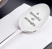 Spoon Theory gift - dad gifts - motivational gifts - Engraved gifts