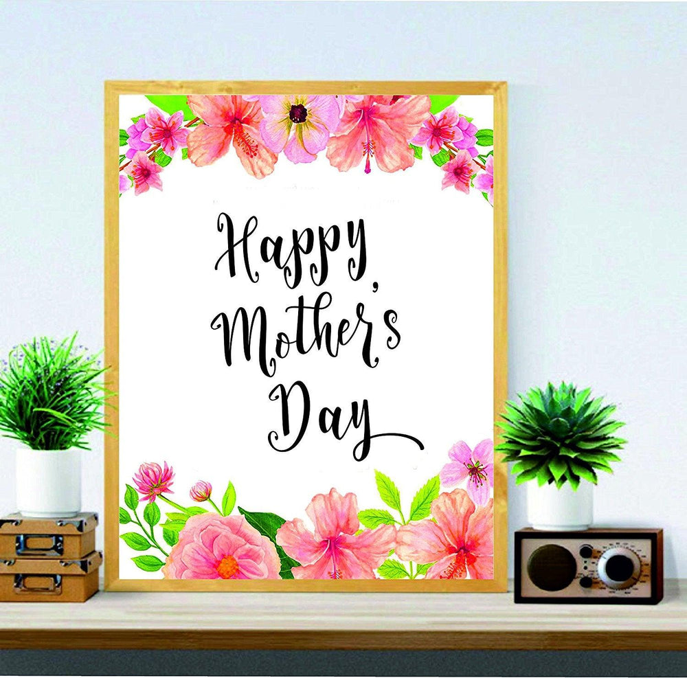 photograph about Happy Mothers Day Printable identified as Moms Working day Printable - Joyful Moms Working day - Mums Reward - Moms Working day Artwork - Electronic Print - Wall Artwork Printable - Items for Mother - Moms Working day Decor