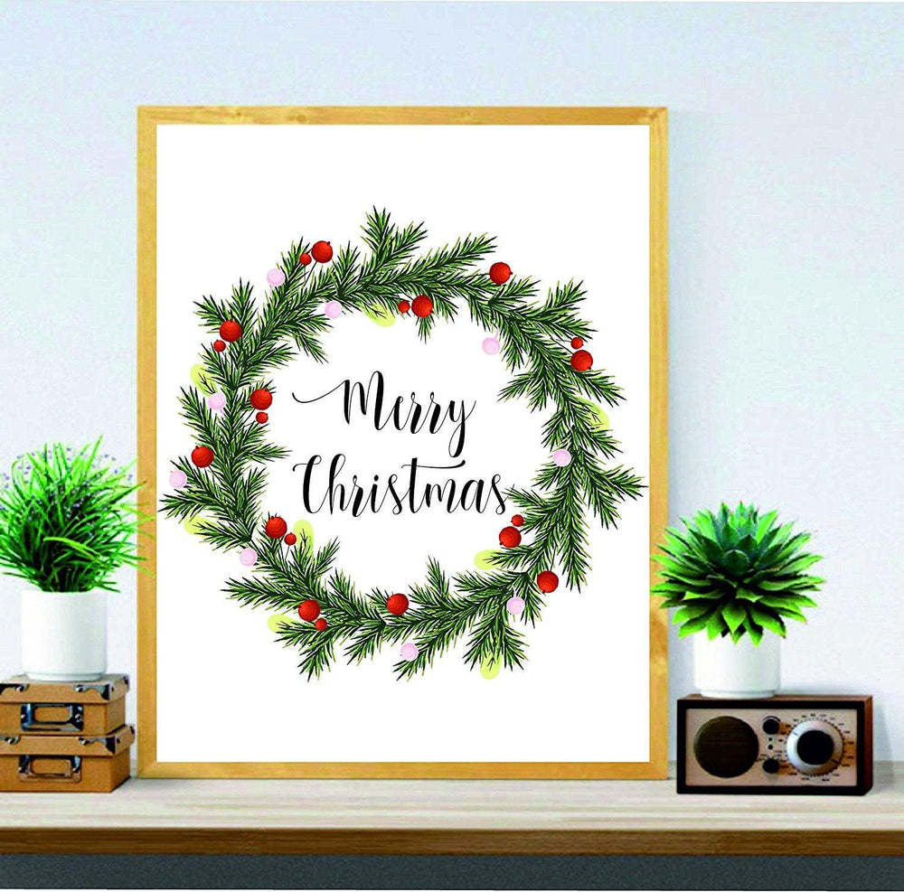 christmas wall decor pictures