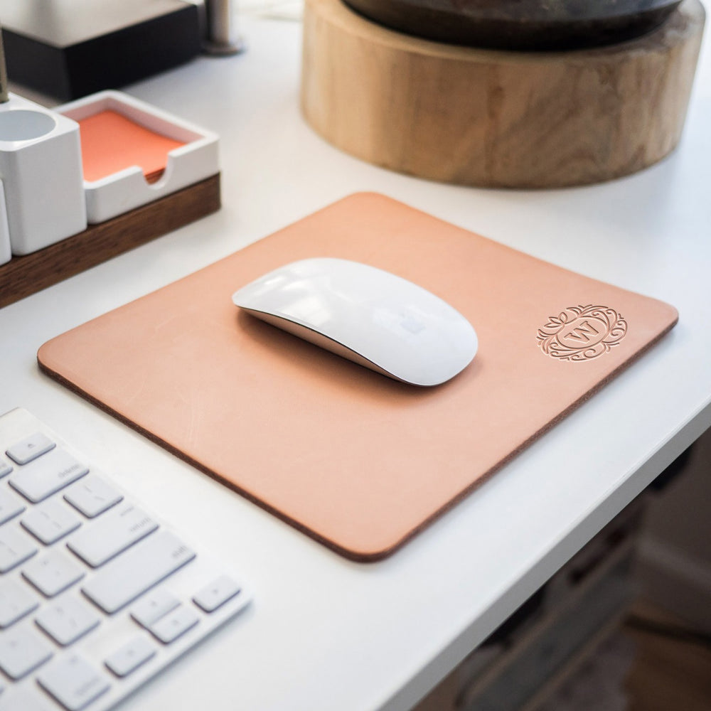 Leather Mouse Pad - BOSTON CREATIVE COMPANY