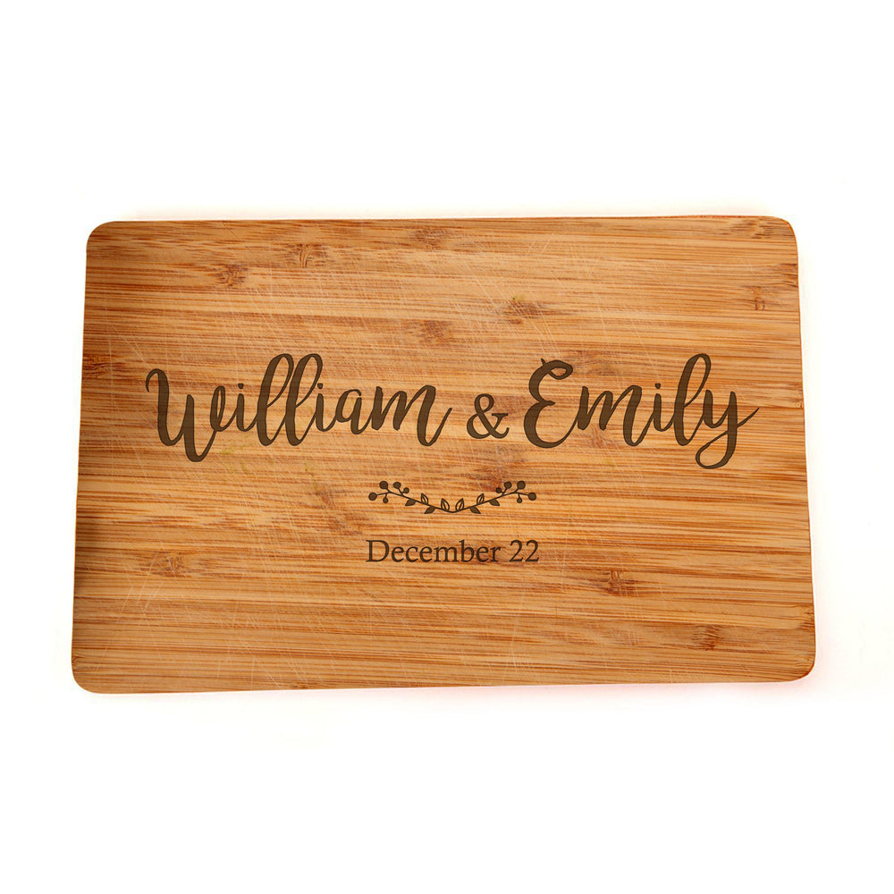 Name Engraved Cutting Board - Engraved Cutting Board, Custom Cutting Board