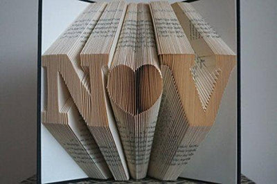 Folded Book Art Unique Gifts - BOSTON CREATIVE COMPANY
