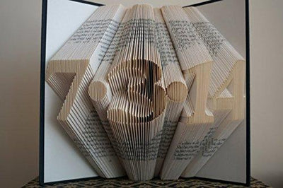 Folded Book Art Wedding Unique Gifts - BOSTON CREATIVE COMPANY