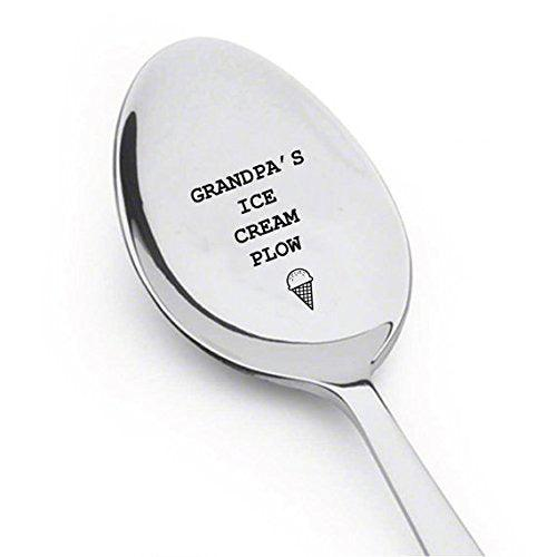 Grandpa's ice cream plow,Grandpa gift,best selling items,funny grandpa gift. - BOSTON CREATIVE COMPANY
