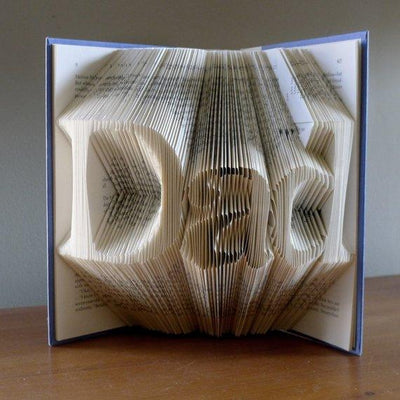 Black Friday Cyber Monday Gifts for Dad - New Father Gift  - Best Dad - Gift for Men - Folded Book Art  Presents for Daddy / Dads / Fathers - BOSTON CREATIVE COMPANY