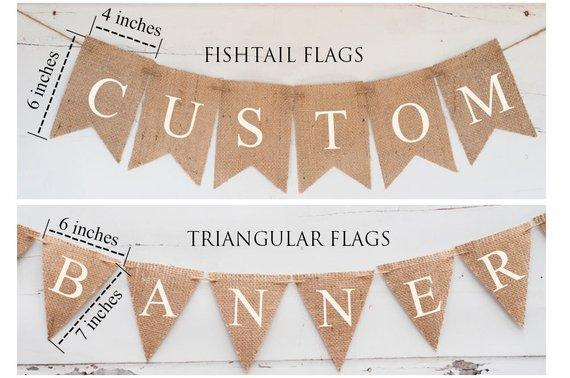 Custom Banner Your Ownwordings DIY Custom Banner, Burlap Banner, B331
