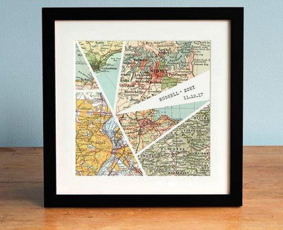 Personalized Map Art