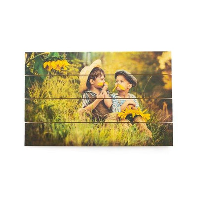 Custom Photo Pallet Wall Art Rustic Home Decor - BOSTON CREATIVE COMPANY