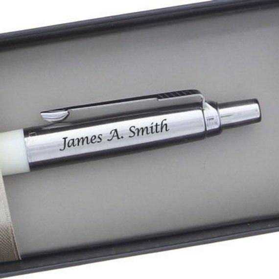 Personalized Parker Jotter Pen Gift Birthday Teacher Dad Gifts