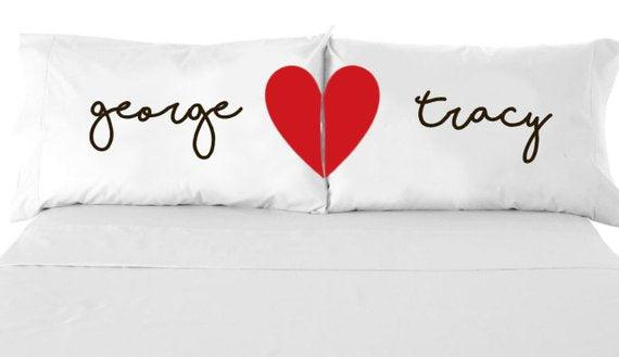 Personalized Pillow Case, better together Pillow Case,Personalized Name  Pillowcase, Custom Wedding Gift, Custom Pillowcases, Couples Pillows