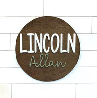 Wood  Name Sign Nursery Decor Wooden Letters