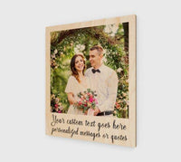 Engraved Picture Frame Polaroid Picture Frame Wedding Picture Display - BOSTON CREATIVE COMPANY
