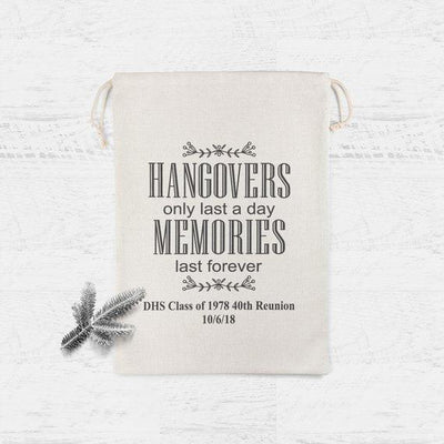 Hangover Recovery Kit Wedding Party Favor Bag