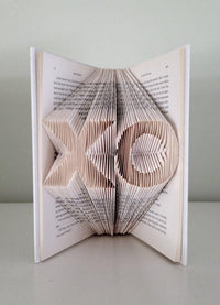 Folded Book Art Personalized Engagement Gifts - BOSTON CREATIVE COMPANY