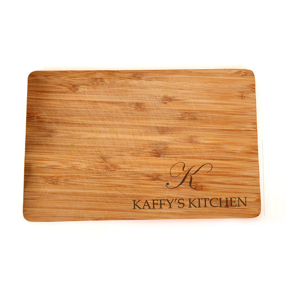 Engraved Custom Personalized Cutting Board