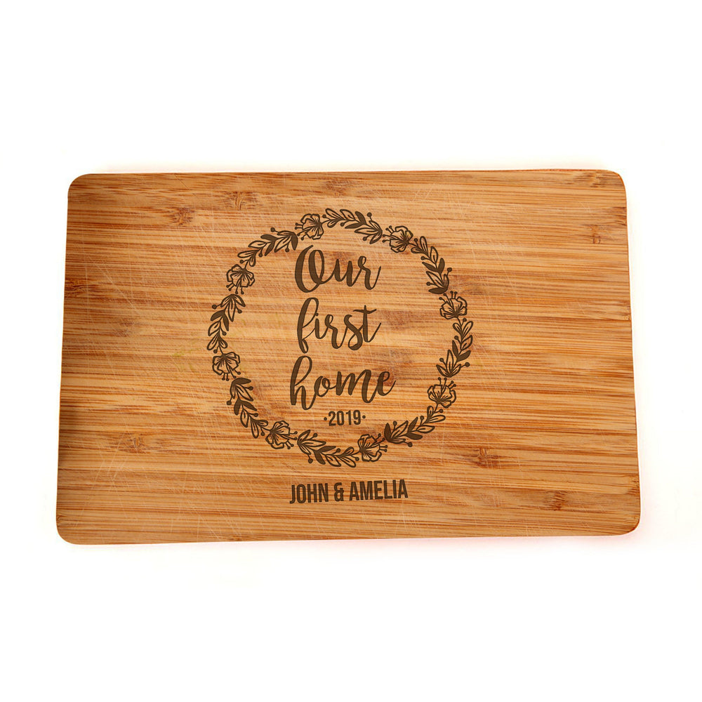 Home Sweet Home - Closing Gift - Housewarming Gift, Personalized Cutting Board