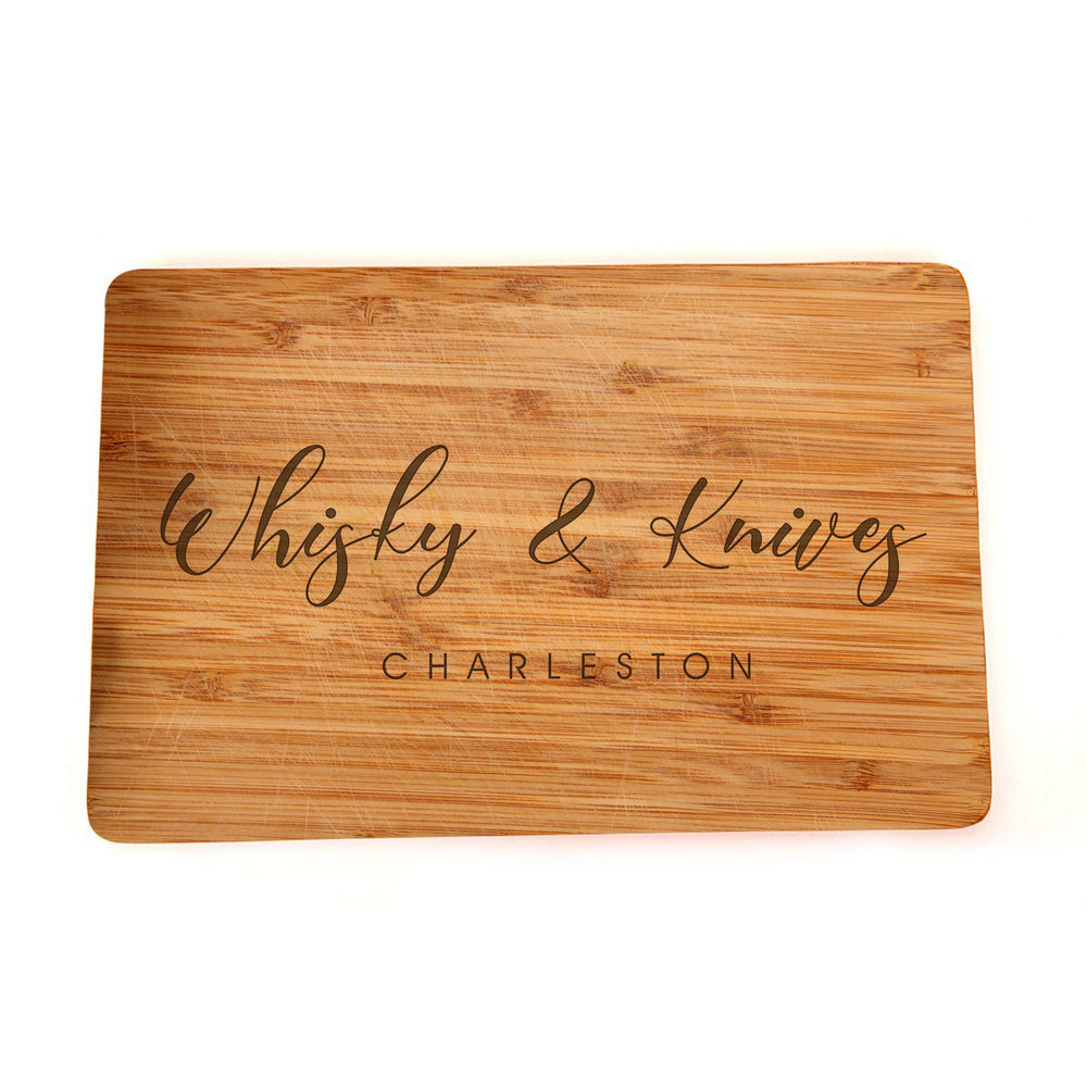 Personalized Cutting Board - Engraved Cutting Board