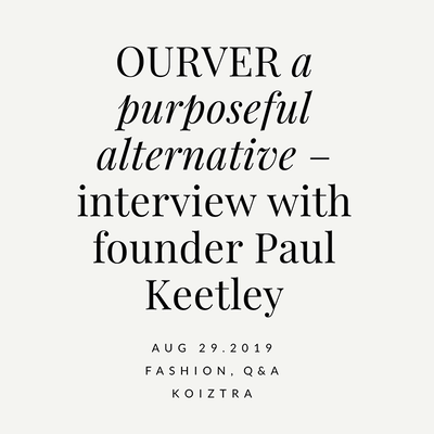Q&A with OURVER