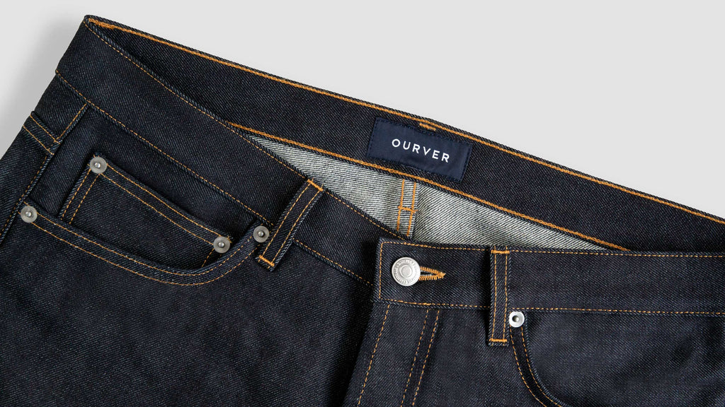 organic raw denim