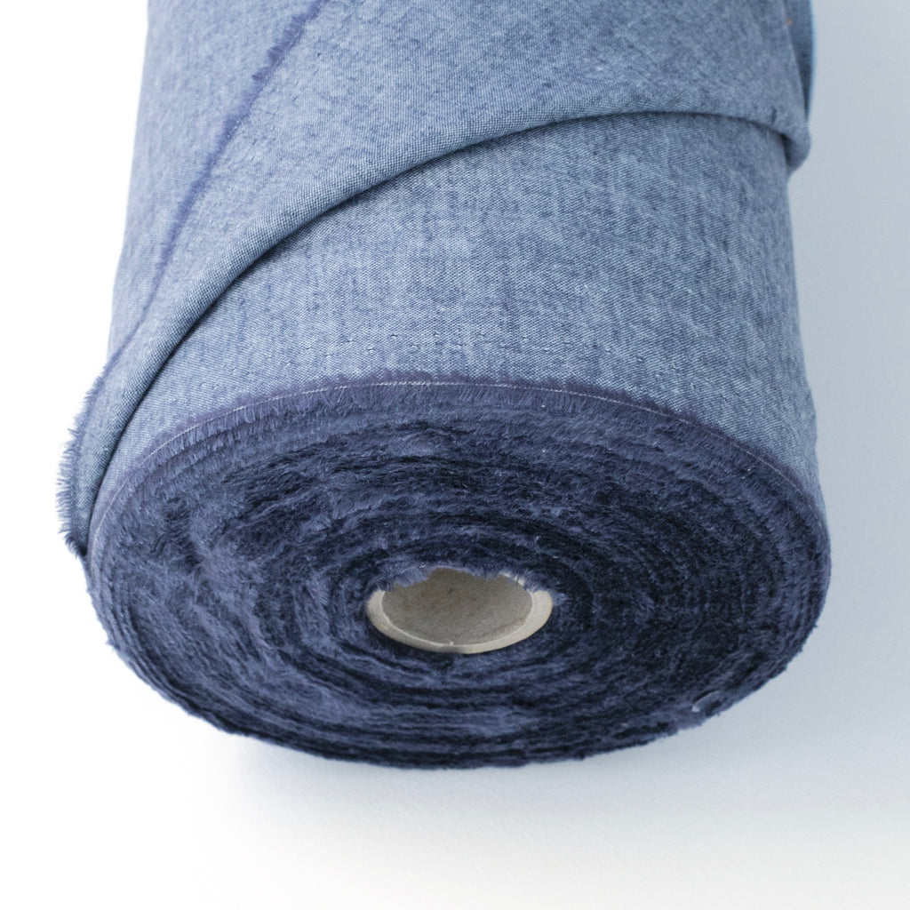Chambray fabric roll