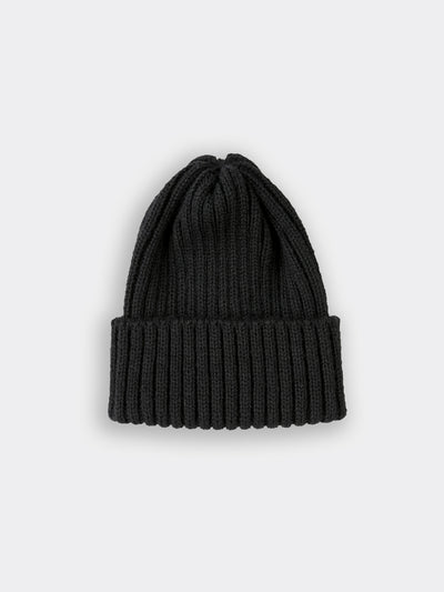 men's wool beanie black colour