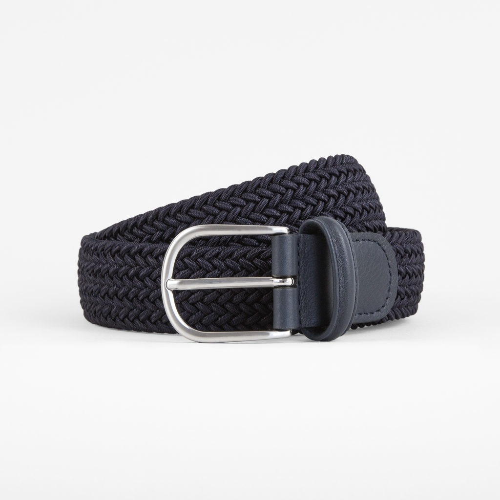 OURVER x Anderson's Woven Belt / Navy