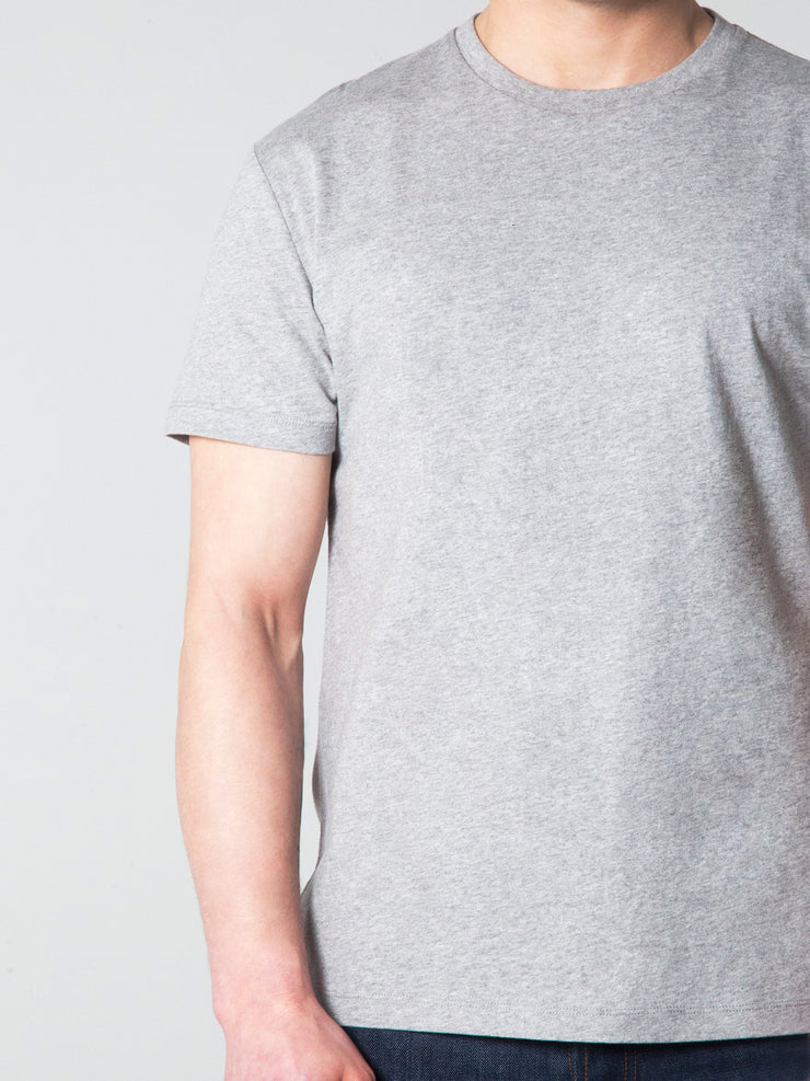 Grey Crew Neck T-shirt