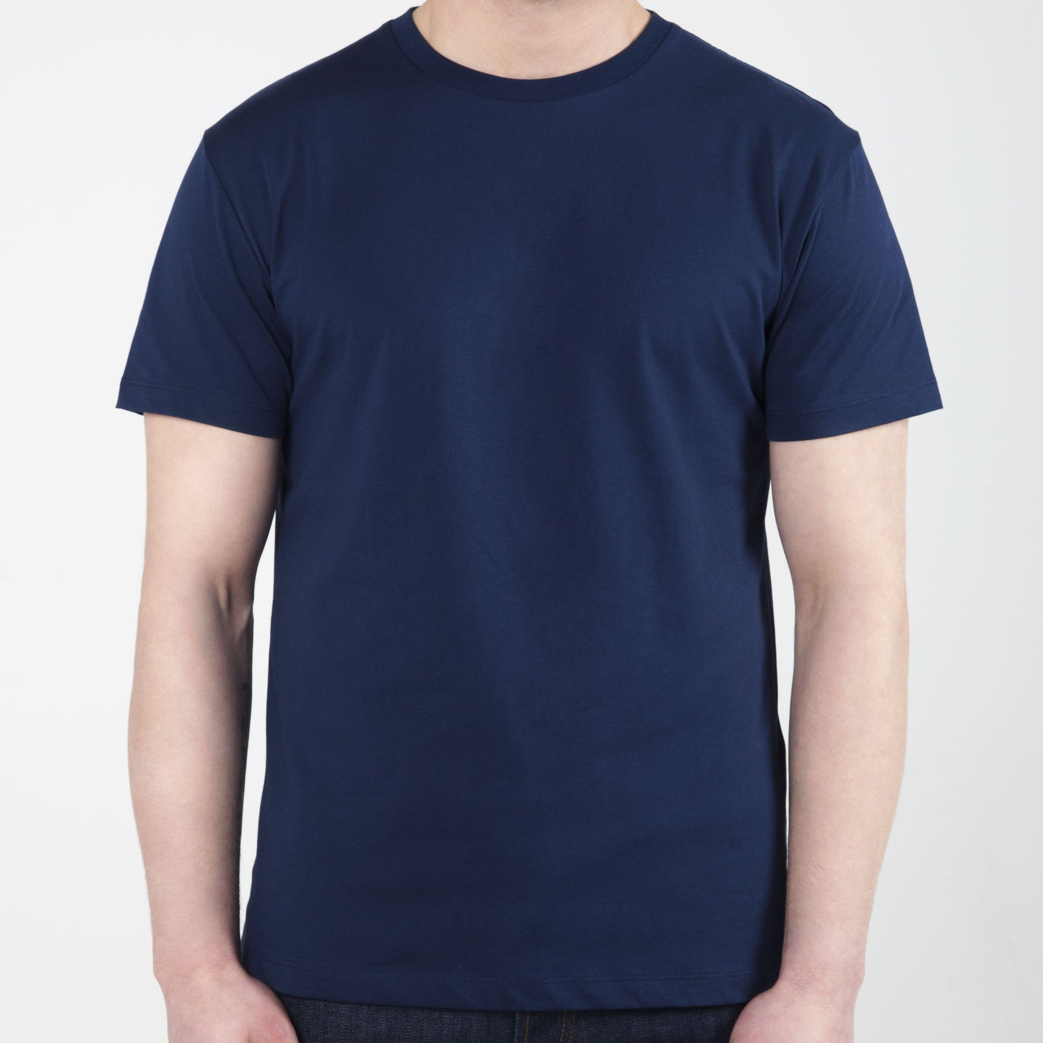 Navy Essential Tops - Premium Cotton Shirts, Essential T Shirts & Clothing