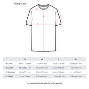 T-shirt Measurement Chart