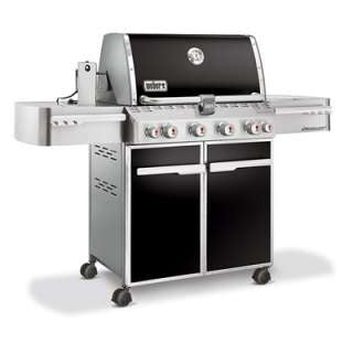 WEBER SUMMIT® E-470™ 4-BURNER WITH SIDE AND ROTISSERIE BURNERS