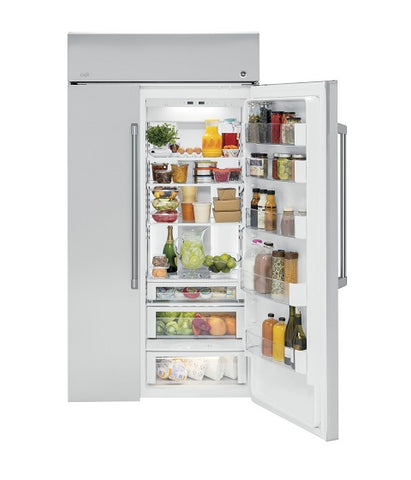 "48"" STAINLESS STEEL BUILT-IN SIDE-BY-SIDE REFRIGERATOR"