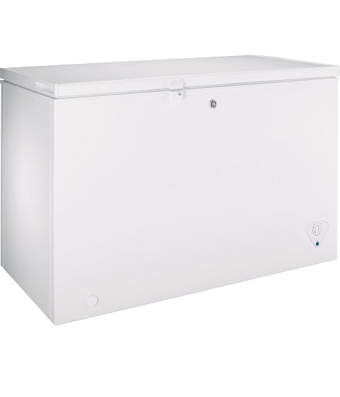 10.6 CU.FT. MANUAL DEFROST CHEST FREEZER GE - WHITE