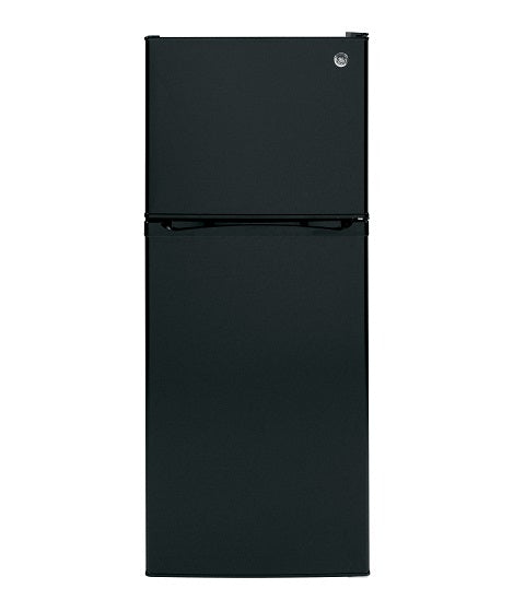 GE 11.55 CU. FT. TOP-FREEZER NO-FROST REFRIGERATOR GE - BLACK GPE12FGKBB