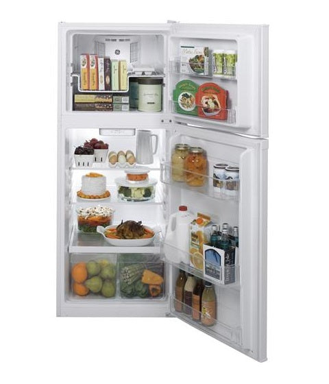 GE 11.55 CU. FT. WHITE TOP-FREEZER NO-FROST REFRIGERATOR