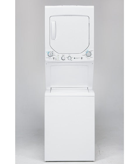 UNITIZED 2.4 Cu. Ft. (IEC) WASHER / 4.4 Cu. Ft. DRYER SPACEMAKER WASHER AND GAS DRYER